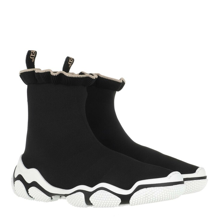 shoes, Red Valentino, Sneaker Black Nude/White Black