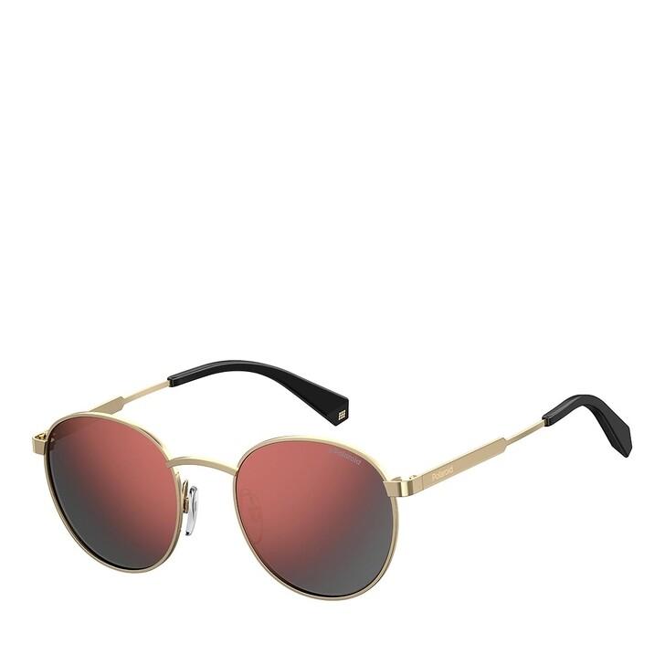 Sonnenbrille, Polaroid, PLD 2053/S GOLD BURGUNDY