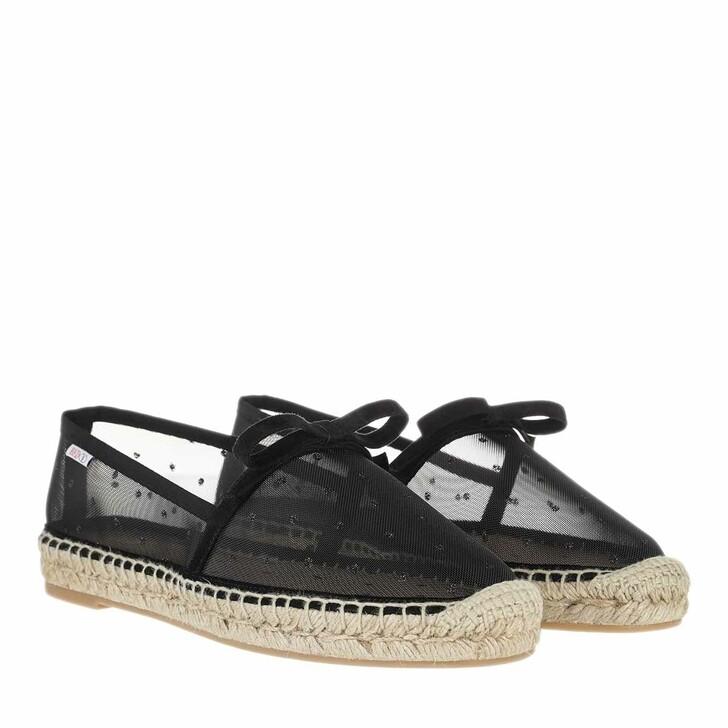shoes, Red Valentino, Espadrillas Black