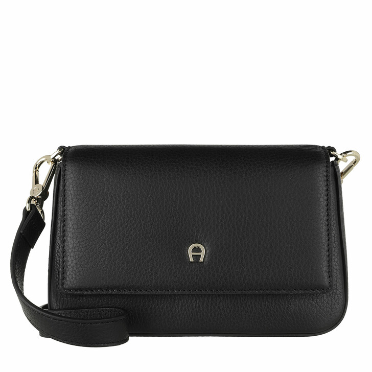 Handtasche, AIGNER, Shoulder Bag/Clutch Black