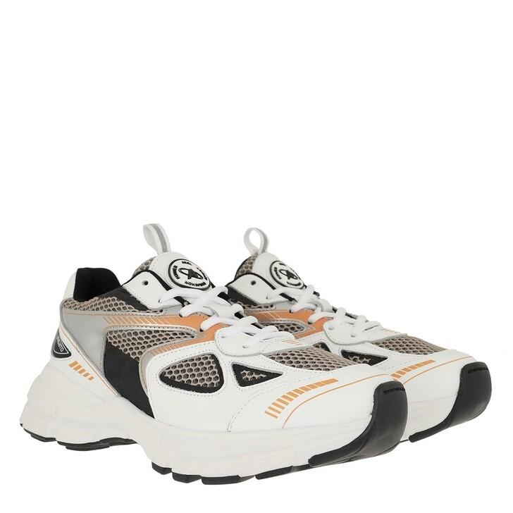 shoes, Axel Arigato, Marathon Runner Sneakers White/Black/Orange