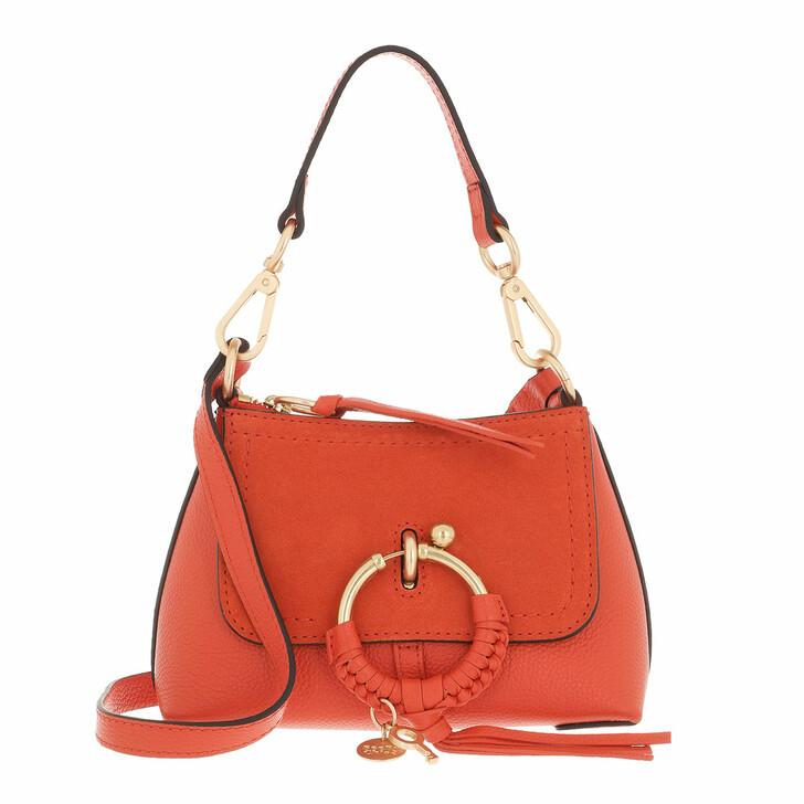 bags, See By Chloé, Joan Crossbody Bag Mini Orange