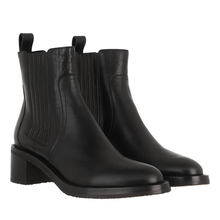 Schuh, Celine, Chelsea Boots Leather Black