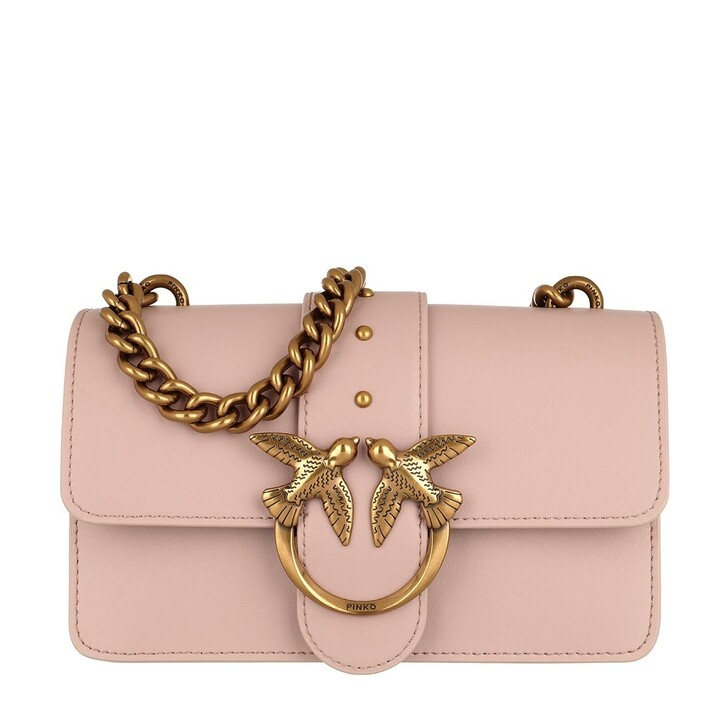 Handtasche, Pinko, Love Mini Icon Simply 4 C Crossbody Rose Dust Pink