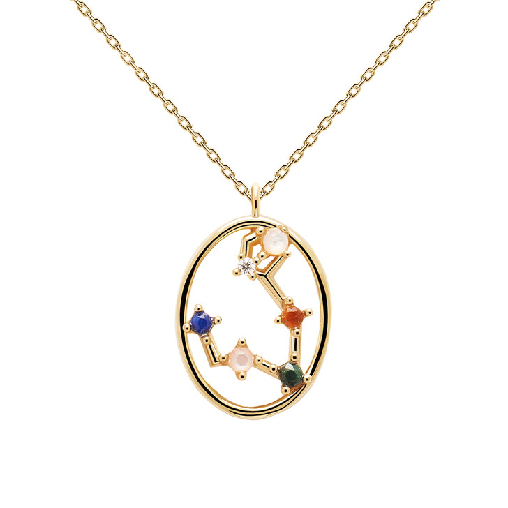 Kette, PDPAOLA, Necklace PISCES Yellow Gold