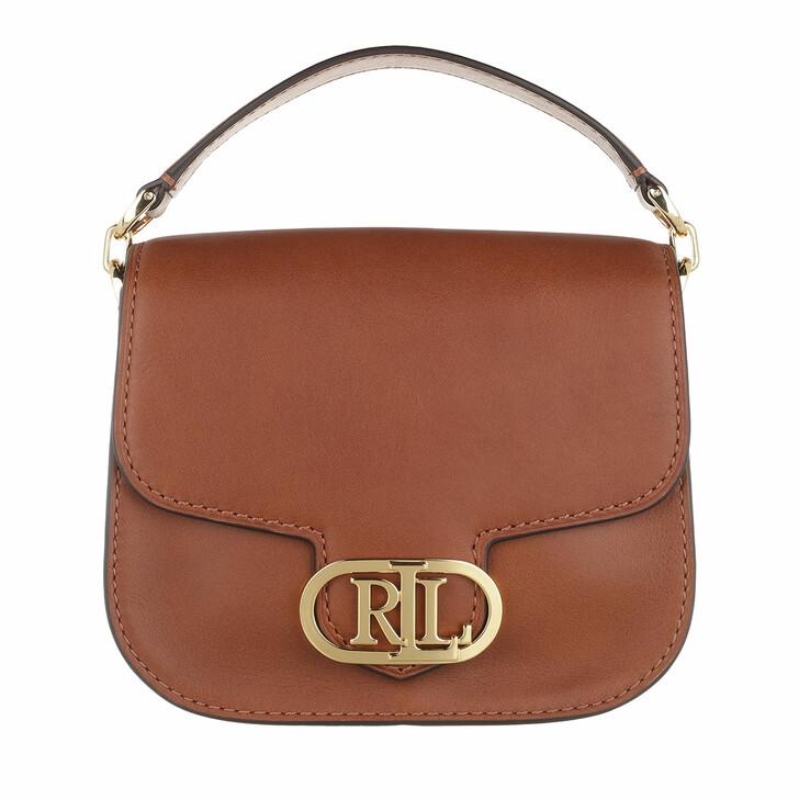 Handtasche, Lauren Ralph Lauren, Addie 19 Crossbody Small Lauren Tan