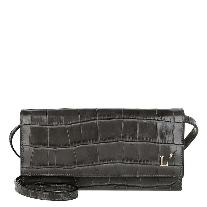 Geldbörse, L´Autre Chose, Continental Kokko Bag Dark Grey