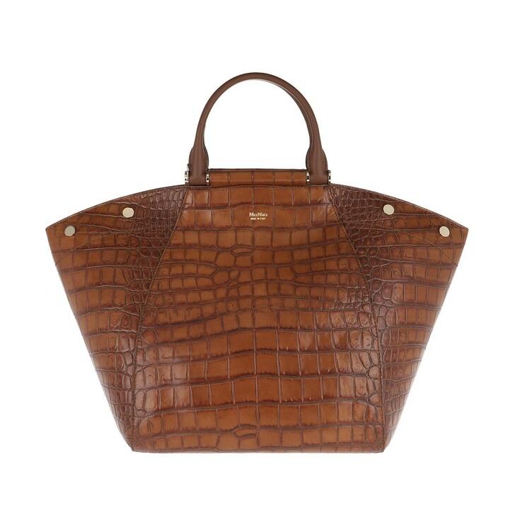 Handtasche, Max Mara, Anita Medium Shopping Bag Tobacco