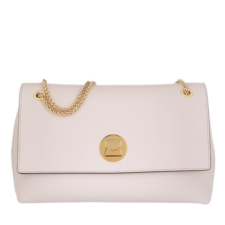 Handtasche, Coccinelle, Liya Crossbody Bag Lambskin White/Lambskin White