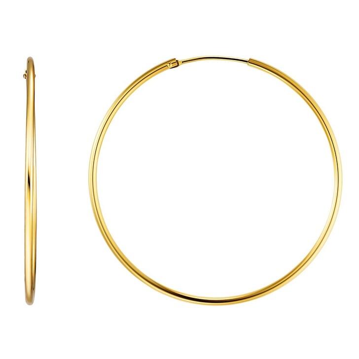 Ohrring, BELORO, Creole Earring 8k L Gold