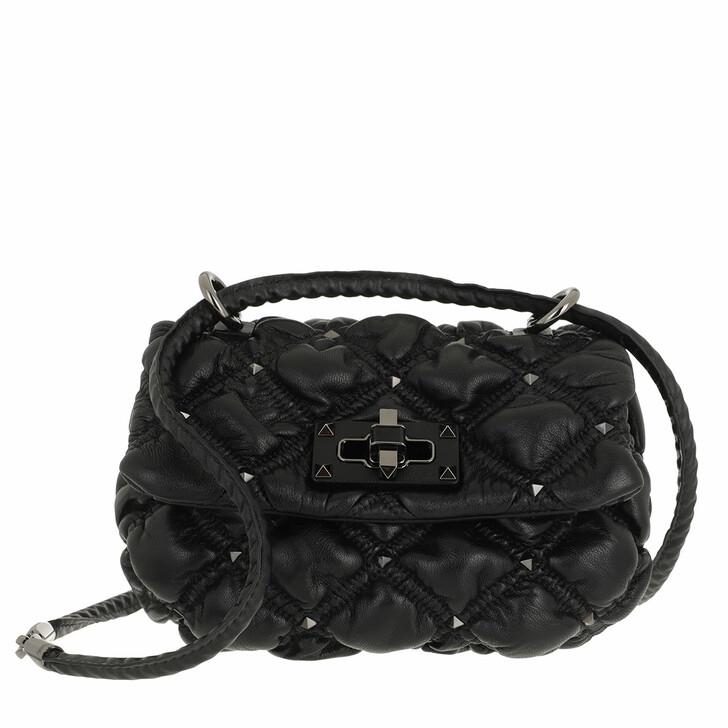 bags, Valentino Garavani, Small Crossbody Bag Black
