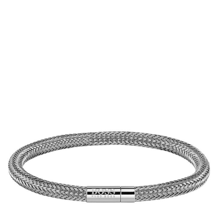 Armreif, Boss, Rope Bracelet Silver