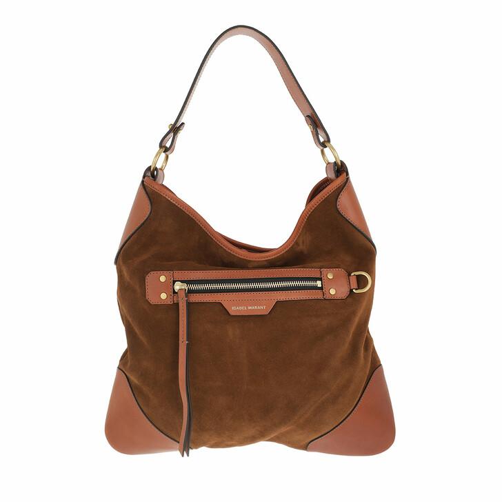 bags, Isabel Marant, Amuko Hobo Bag Cognac