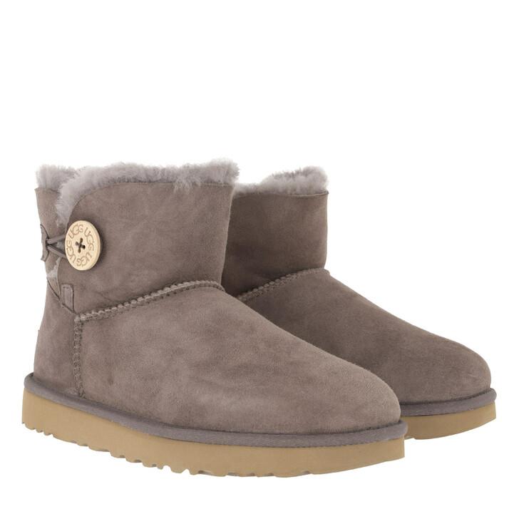 shoes, UGG, W Mini Bailey Button II Mole