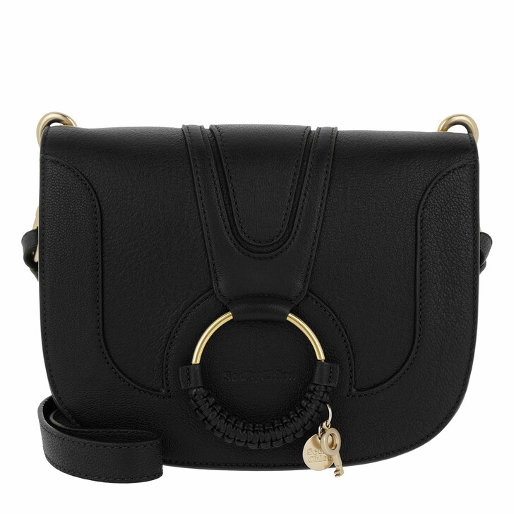 Handtasche, See By Chloé, Hana Medium Crossbody Bag Leather Black