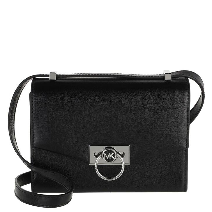Handtasche, MICHAEL Michael Kors, Hendrix Small Convertible Crossbody Bag Black