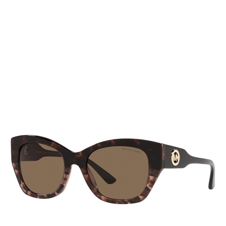 Sonnenbrille, Michael Kors, 0MK2119 BROWN FLORAL ACETATE