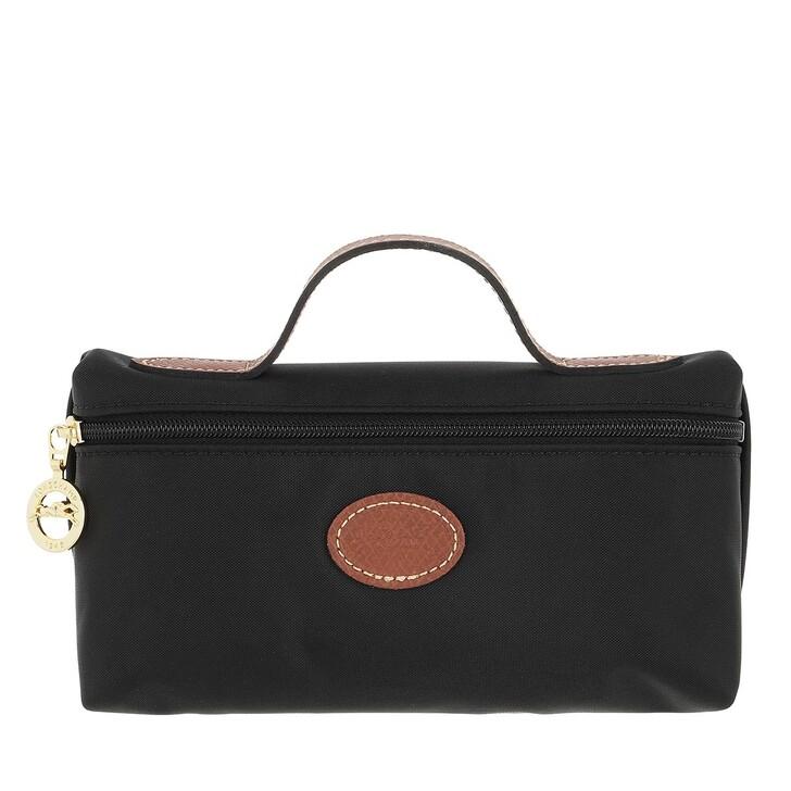 bags, Longchamp, Le Pliage Original Pochette  Black