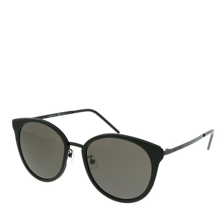 Sonnenbrille, Saint Laurent, SL 446/F SLIM-001 55 Sunglasses Woman Black