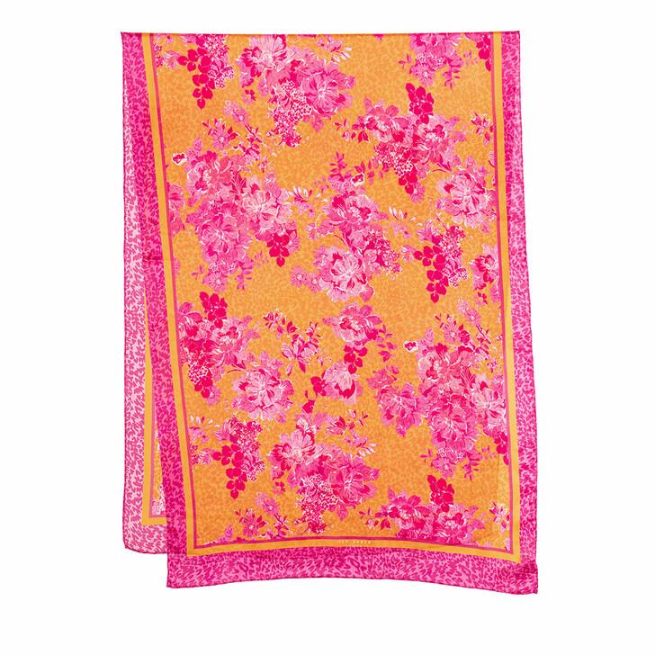 Schal, Ted Baker, Tinsal Metropolis Long Silk Scarf Pink