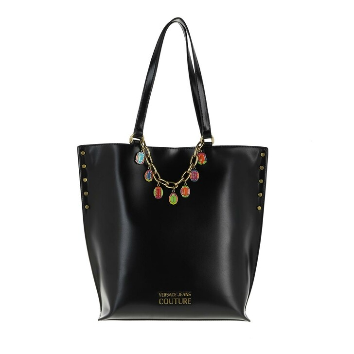 Handtasche, Versace Jeans Couture, Satchel Bag Black