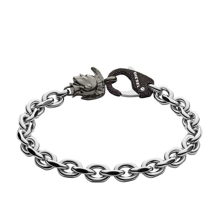 bracelets, Diesel, Bracelet DX1146040 Grey/Silver