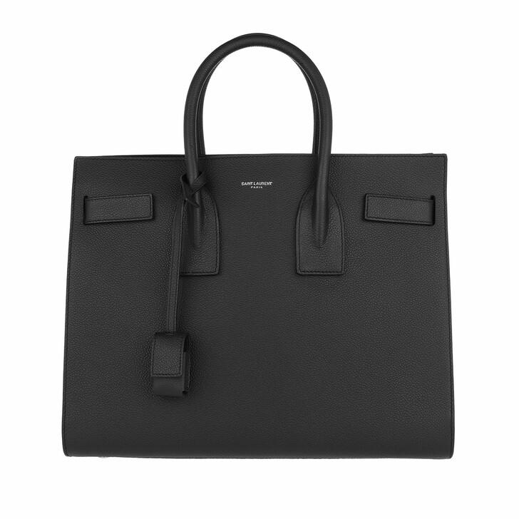 Handtasche, Saint Laurent, YSL Sac Du Jour Small Tote Bag Nero