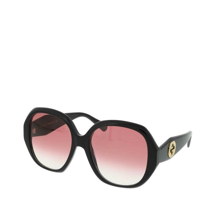 Sonnenbrille, Gucci, GG0796S-002 56 Sunglass WOMAN ACETATE Black