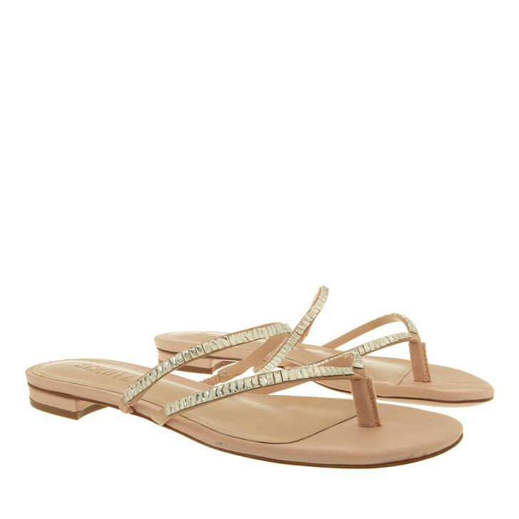 shoes, Schutz, Flat Sandals Cristal/Sweet Rose