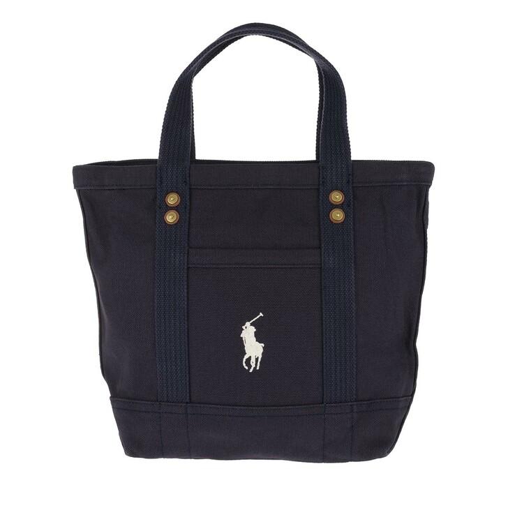 Handtasche, Polo Ralph Lauren, Small PP Tote Bag Navy