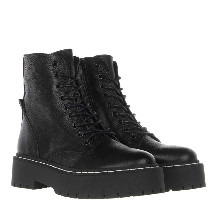 Schuh, Steve Madden, Skylar Ankle Boots Leather Black