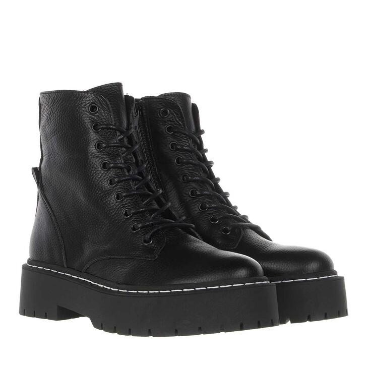 shoes, Steve Madden, Skylar Ankle Boots Leather Black