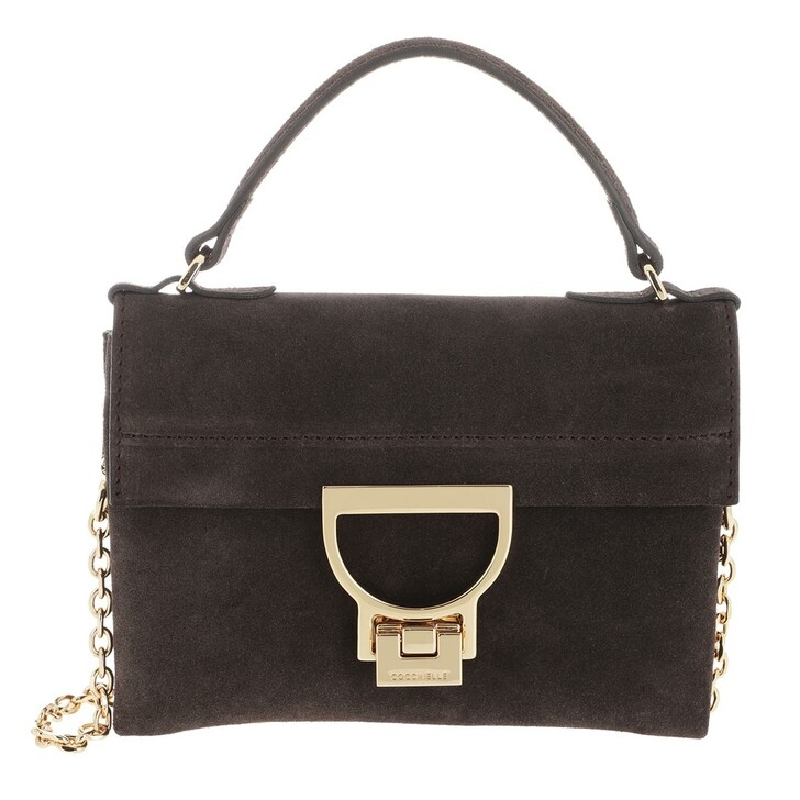 bags, Coccinelle, Mignon Crossbody Leather  New Taupe Moro