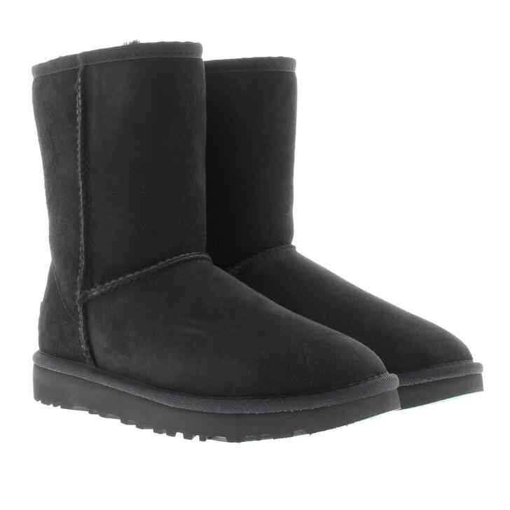 Schuh, UGG, W Classic Short II Black