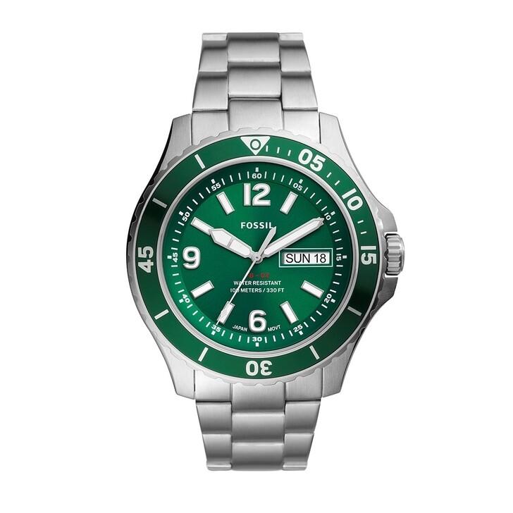 Uhr, Fossil, Men Sport Watch Silver