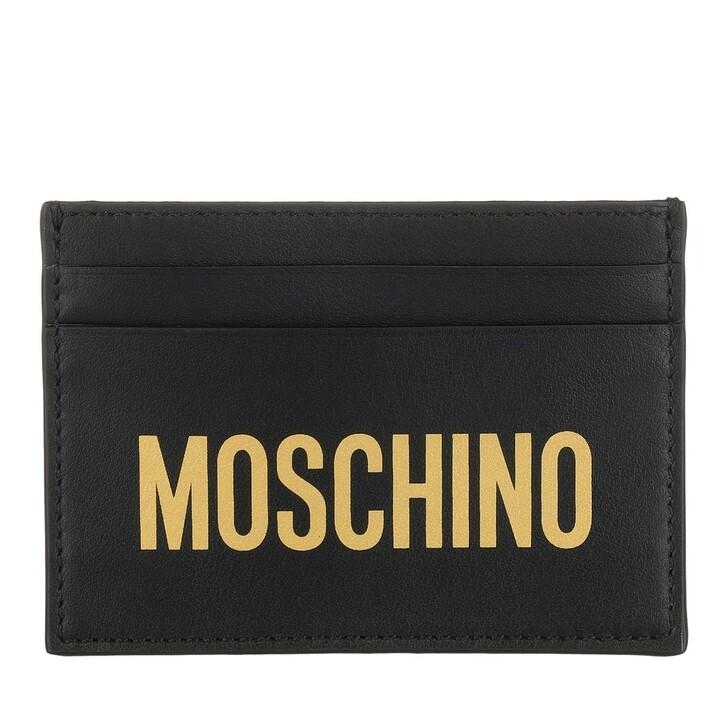 Geldbörse, Moschino, Wallet Black
