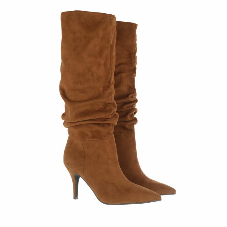 shoes, Steve Madden, Vlouch Boot Cognac