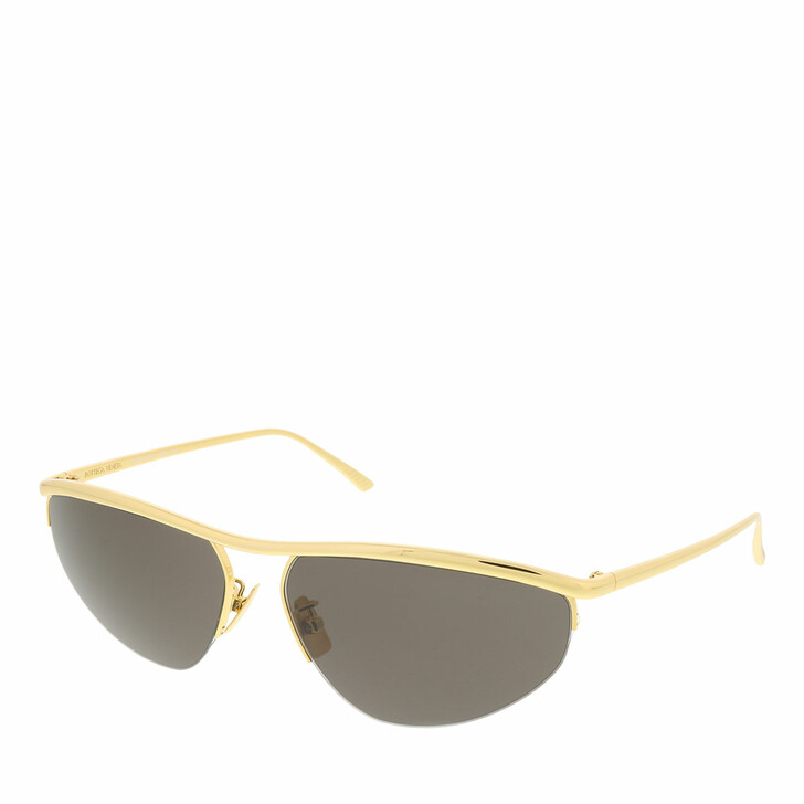sunglasses, Bottega Veneta, BV1091S-001 63 Sunglass UNISEX METAL GOLD
