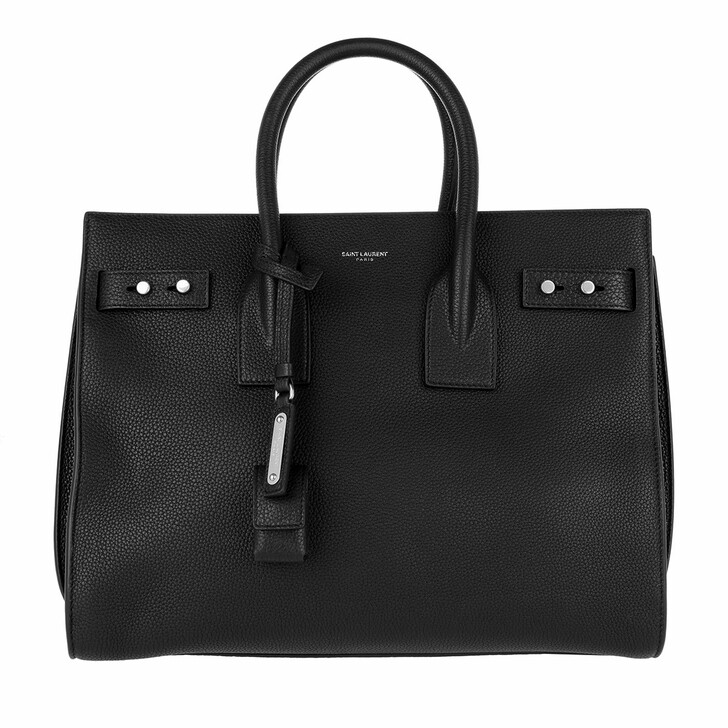 Handtasche, Saint Laurent, Sac du Jour Tote Bag Nero
