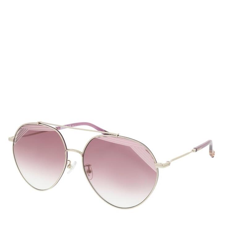 Sonnenbrille, Missoni, MIS 0015/S Lightgold Cherryred Blue