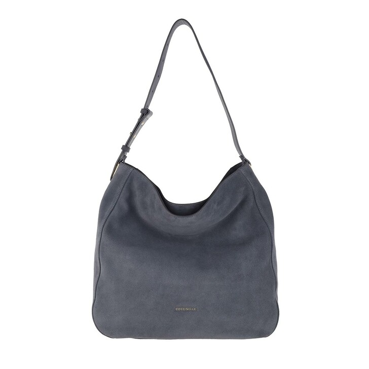 Handtasche, Coccinelle, Handbag Suede Leather Ash Grey