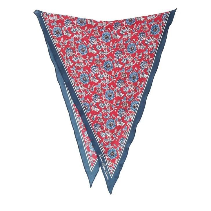 Schal, Lauren Ralph Lauren, Lisa Neckerchief Silk Orient Red
