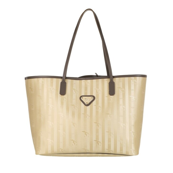 Handtasche, Maison Mollerus, Bern Shopper Star Trunk Gold