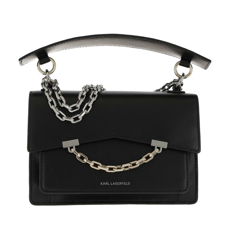 Handtasche, Karl Lagerfeld, K/Karl Seven Shoulderbag Black