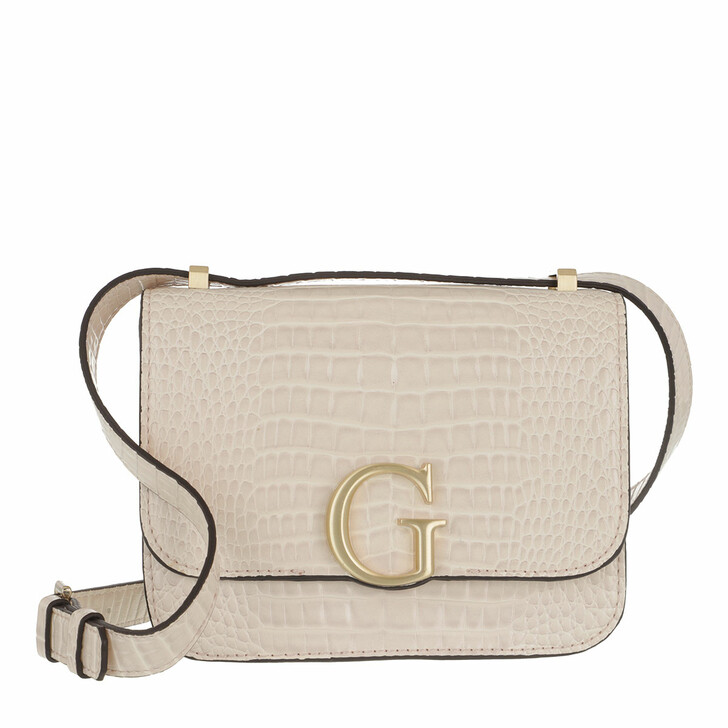 Handtasche, Guess, Corily Convertible Xbody Flap Stone