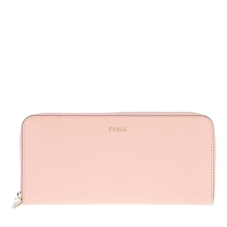 wallets, Furla, Furla Babylon Xl Zip Around Sl Candy Rose