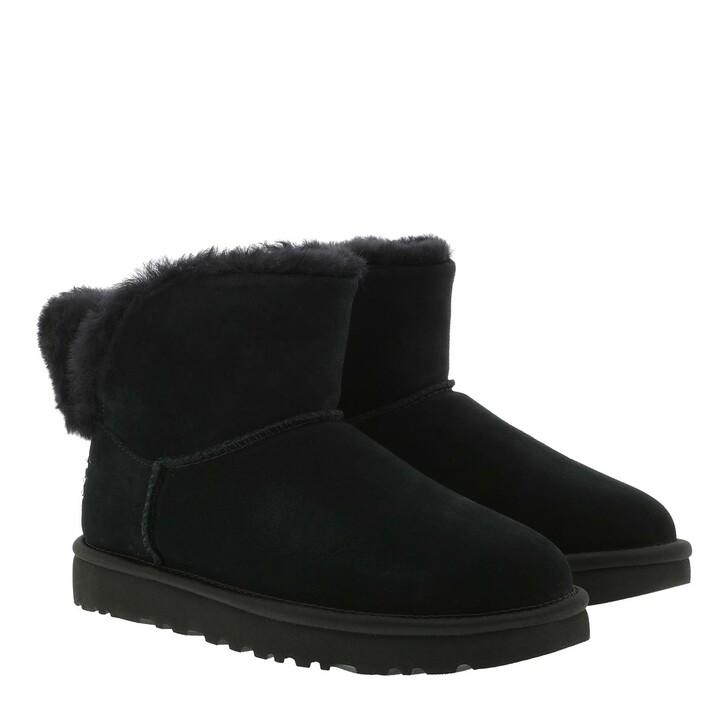 Schuh, UGG, W Classic Bling Mini Black
