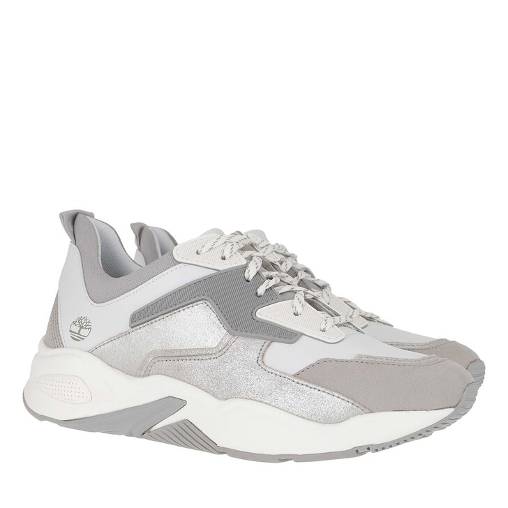 Schuh, Timberland, Delphiville Fabric/Leather Sneaker  White
