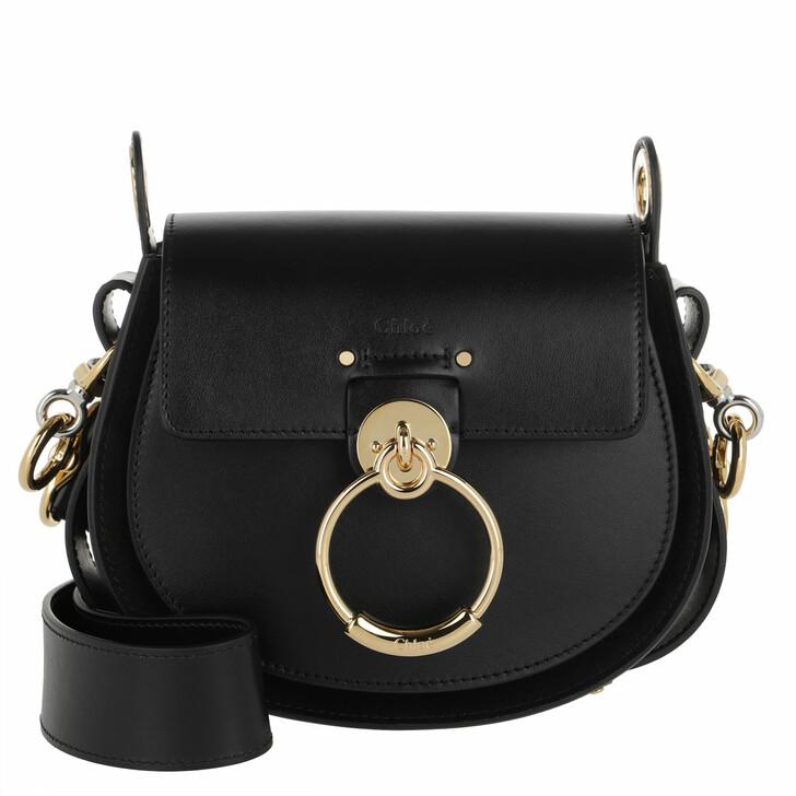 Handtasche, Chloé, Tess Shoulder Bag Leather Black