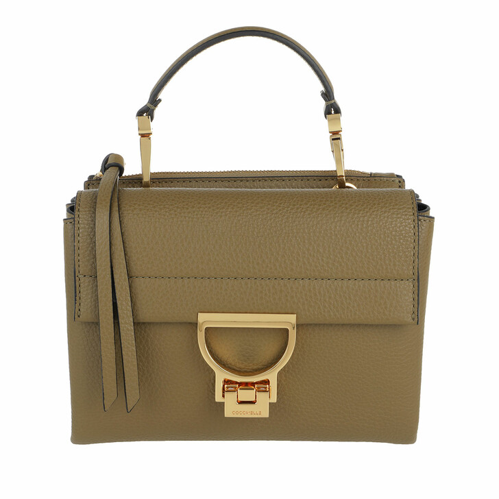 Handtasche, Coccinelle, Handbag Grainy Leather Moss Green